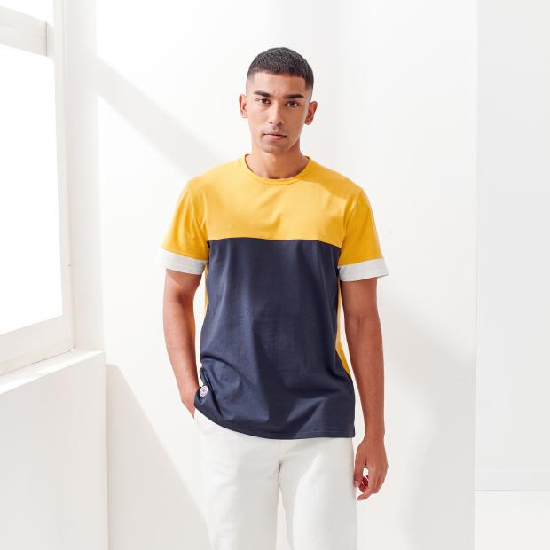 T-shirt en coton/élasthanne