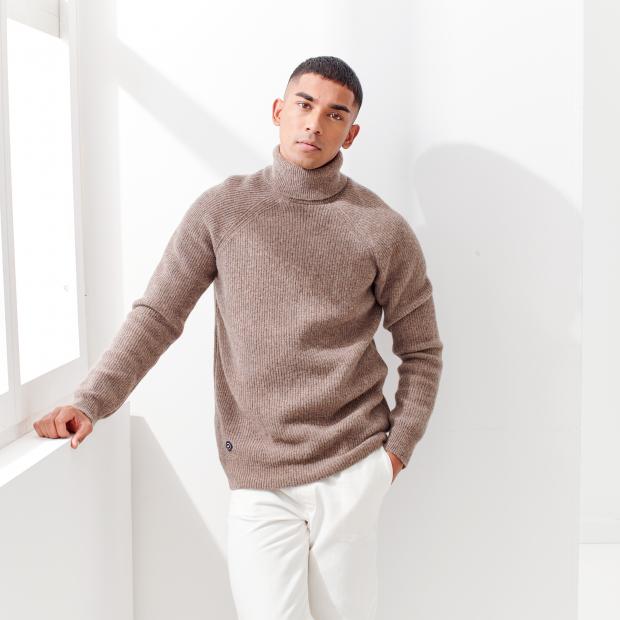 100% wool jumper