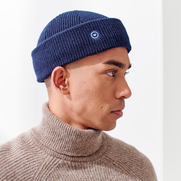 Mütze aus französischer Wolle