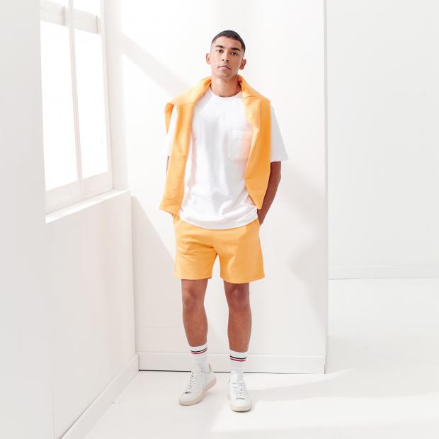 Shorts aus Fleece