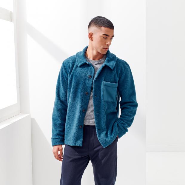 Jacke aus recyceltem Fleece