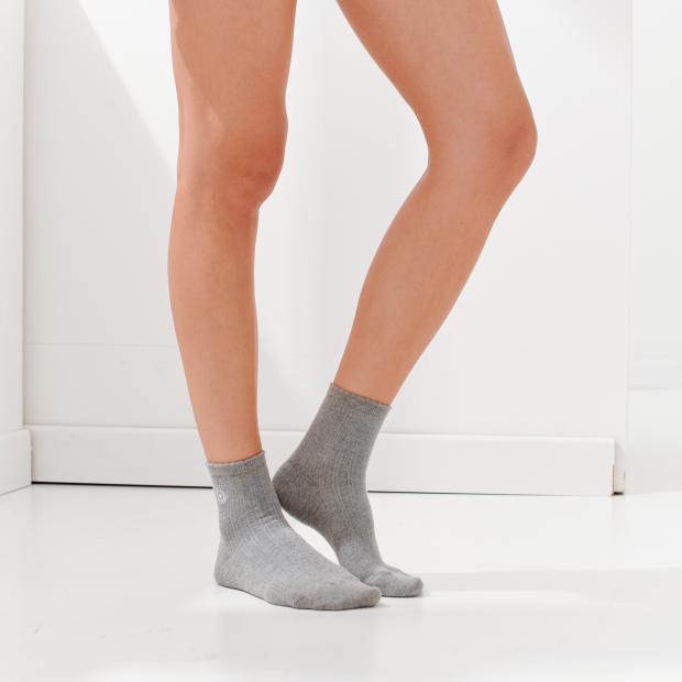 Kurze Krocket-Socken aus Baumwolle