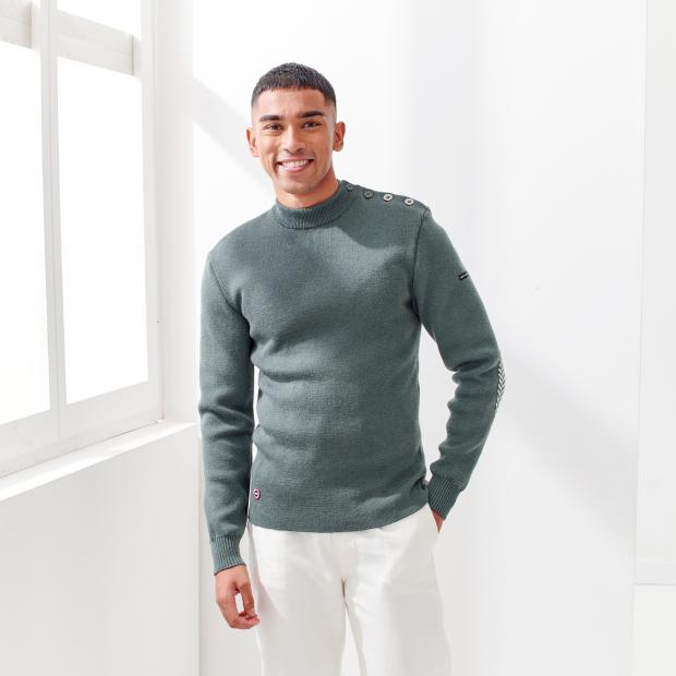 Saint James x LSF wool jumper