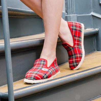 Chaussures Femme - Les Charentaises Rouges - Charentaises rouges