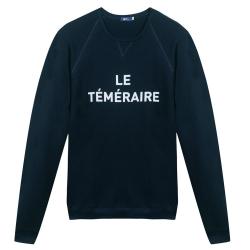 Le Hubert Téméraire - Sweat shirt marine