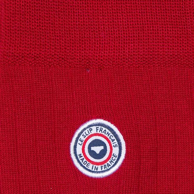 Scottish thread socks - Red socks