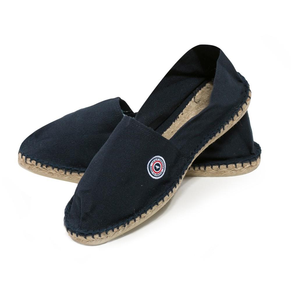 exclusive deals shoes for cheap quite nice Les Basques marine - Espadrilles bleu marine - 35