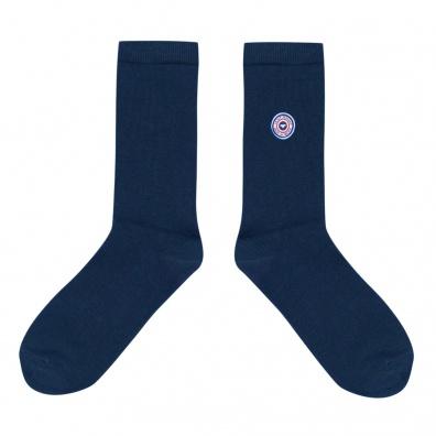Chaussettes Homme - Les Lucas - Chaussettes unies bleues