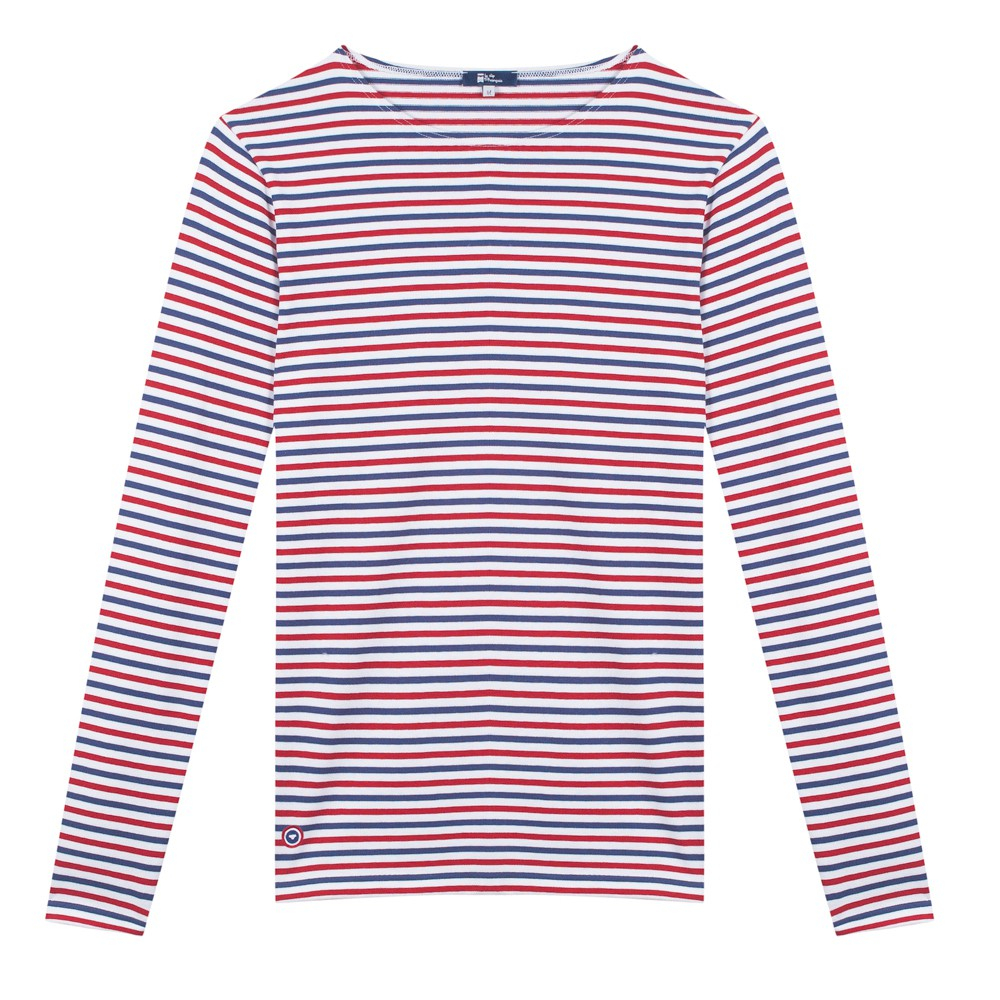 4ed01a0e82 Le Malo - Blue White Red striped shirt | Le Slip Français 🇫🇷