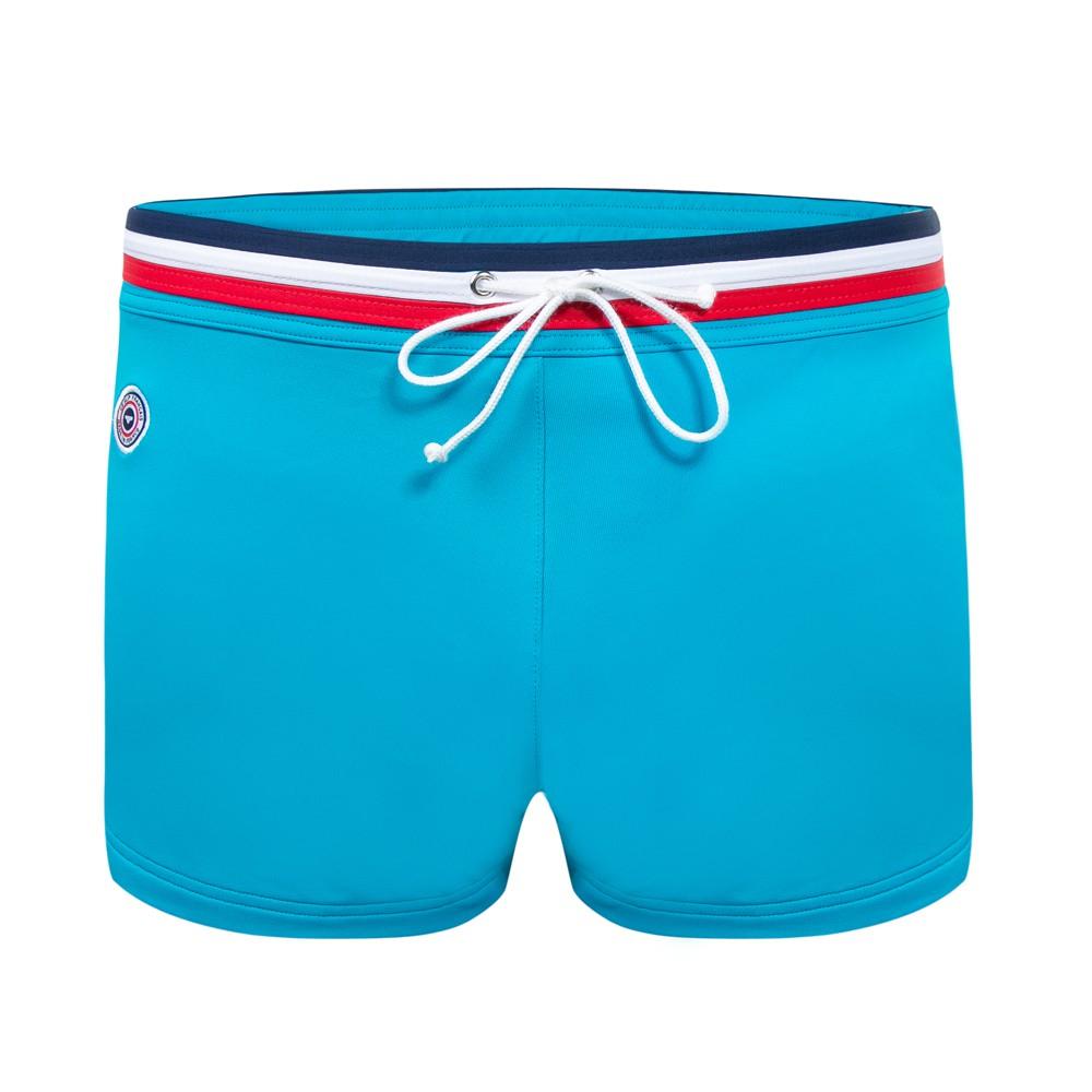Le Triton - Blue Swim boxer brief