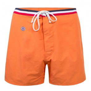 205049b820 SWIMWEAR MEN - Le Moussaillon Orange - Long orange swim short