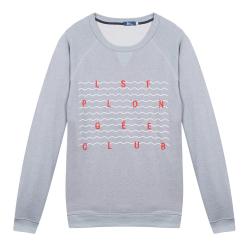 Le Hubert Plongée Club- Sweat-shirt gris