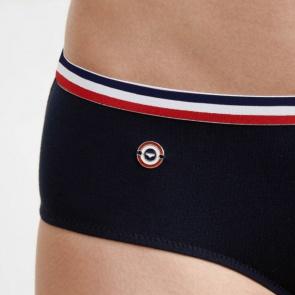 Blue sports panties