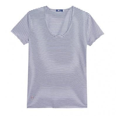 T-SHIRTS FEMME - La Brigitte - T-shirt marinière à col rond