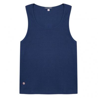 ESSENTIALS - La Marcella - Blue Muscle Fit Vest