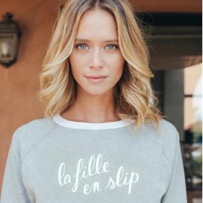 Sweatshirt La Fille en Slip