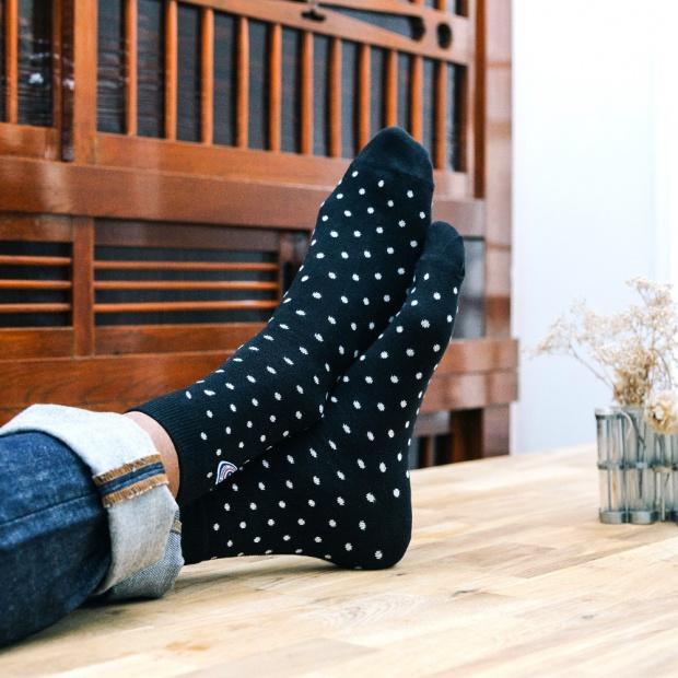 Zwei Paar Schwarze Socken
