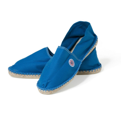 Les Basques Blau - Blaue Espadrilles