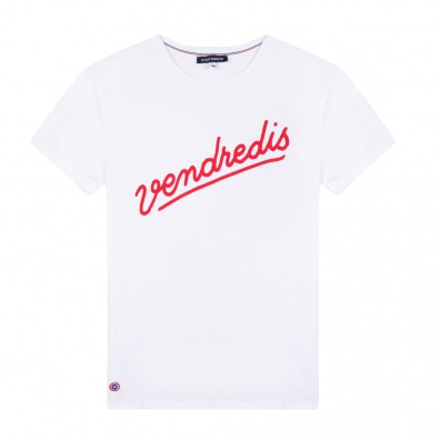SHIRTS - Le Jean F Vendredis - Weißes T-Shirt