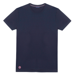 Le Jean - Blaues T-Shirt