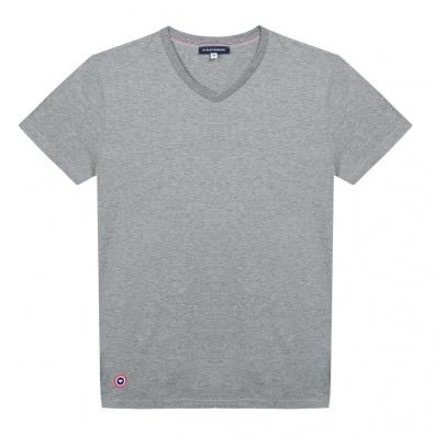 T-Shirts Homme - Le Julien gris - T-shirt gris Col V