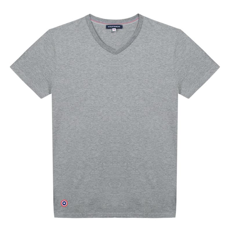 Shirt Col V Le Gris S Julien T wZ0nNPk8OX