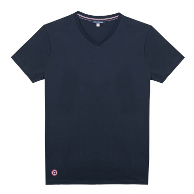 Basics - Le Julien - Dunkelblaues T-Shirt