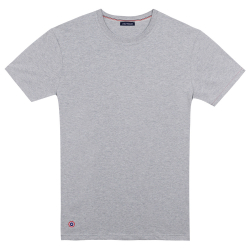 TSHIRT COL ROND LE JEAN gris_chine