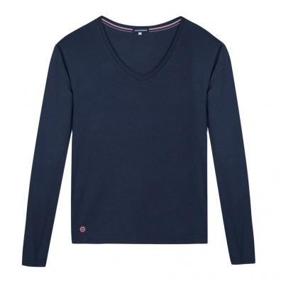 NOUVEAUTÉS FEMME - La Marthe bleue marine - T-shirt manches longues