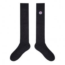 Les Albert Marineblau - Hohe blaue Socken