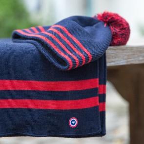 Écharpe mixte en laine