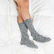 Les Martin grises - Chaussettes grises