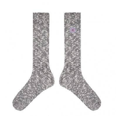 Chaussettes Homme - Les Martin grises - Chaussettes grises