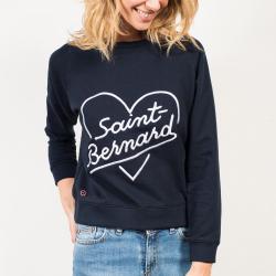 La Sophie Saint Bernard - Blue Sweatshirt