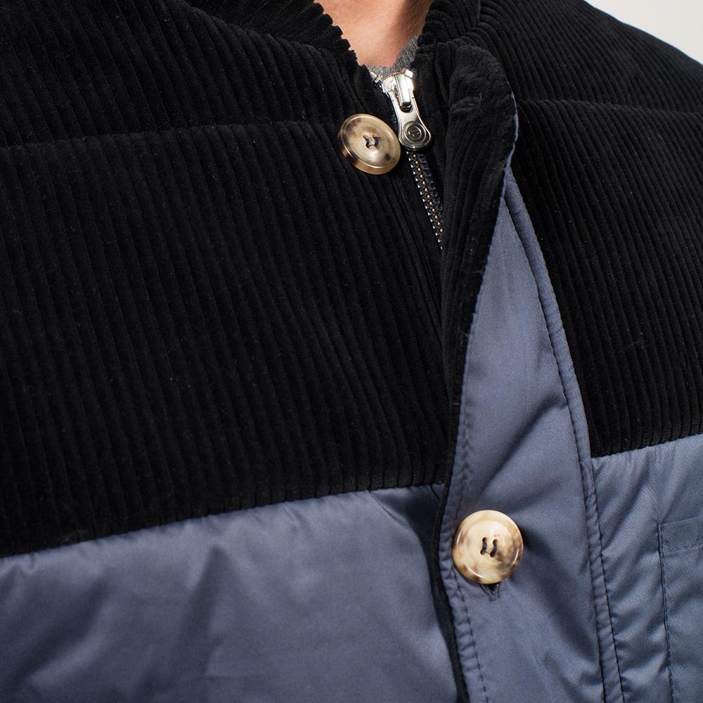 Le Edgar - Doudoune sans manches bleu marine