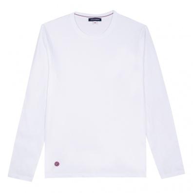 T-Shirts Homme - Le Damien Blanc - T-shirt manches longues blanc