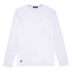 Le Damien Blanc - T-shirt manches longues blanc