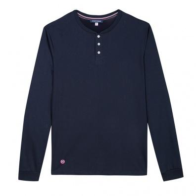 Hauts de pyjama - Le Matthieu Marine - T-shirt tunisien bleu marine