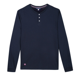 Le Matthieu Marineblau- Marineblaues T-shirt