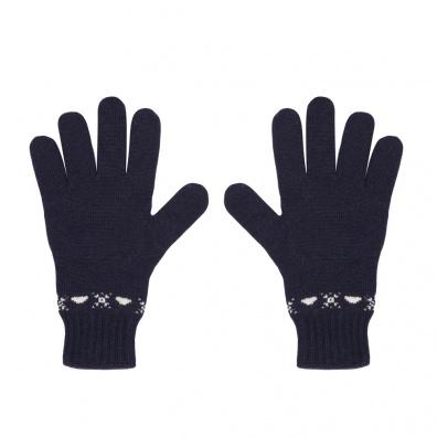 ACCESSORIES - Les citadins navy - wool gloves