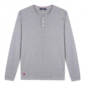 Grey henley t-shirt