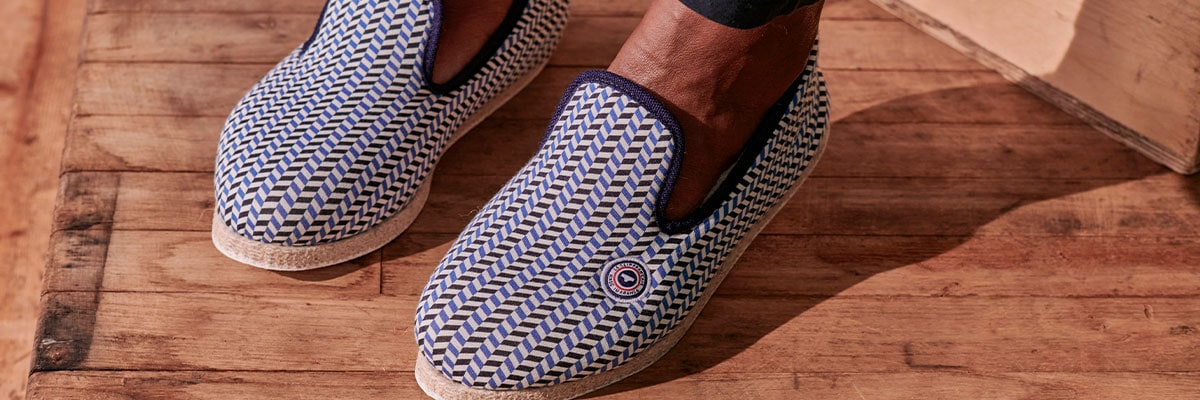 Men's Slippers - Charentaises Made in France