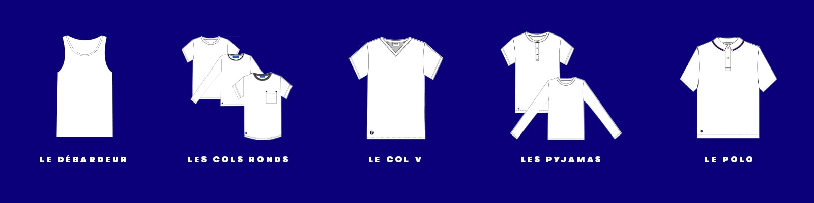 T-Shirts Mixtes Made in France