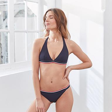 Bikini bleu marine Le Slip Français